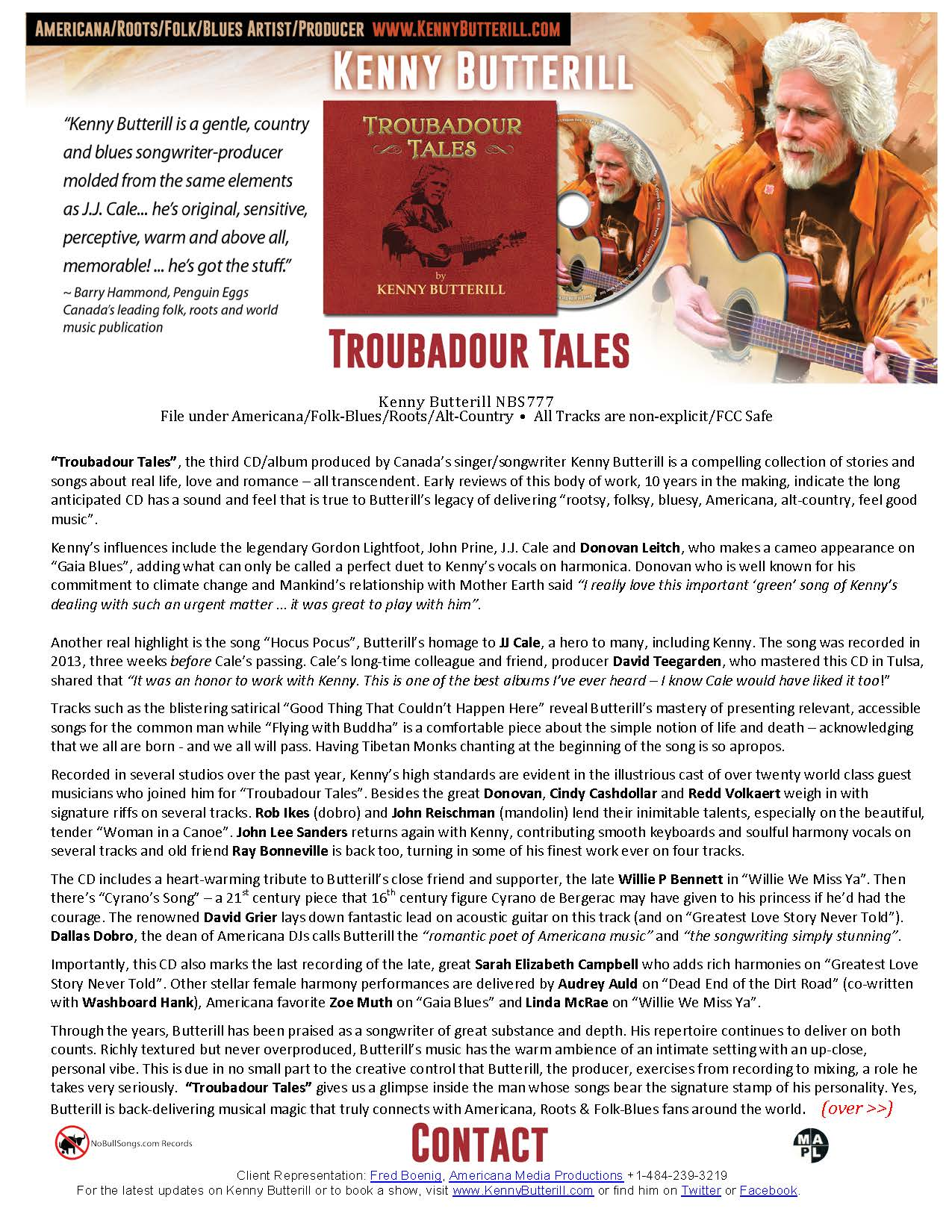 KB OneSheet Troubadour Tales Final two sided for Fred 2015_Page_1